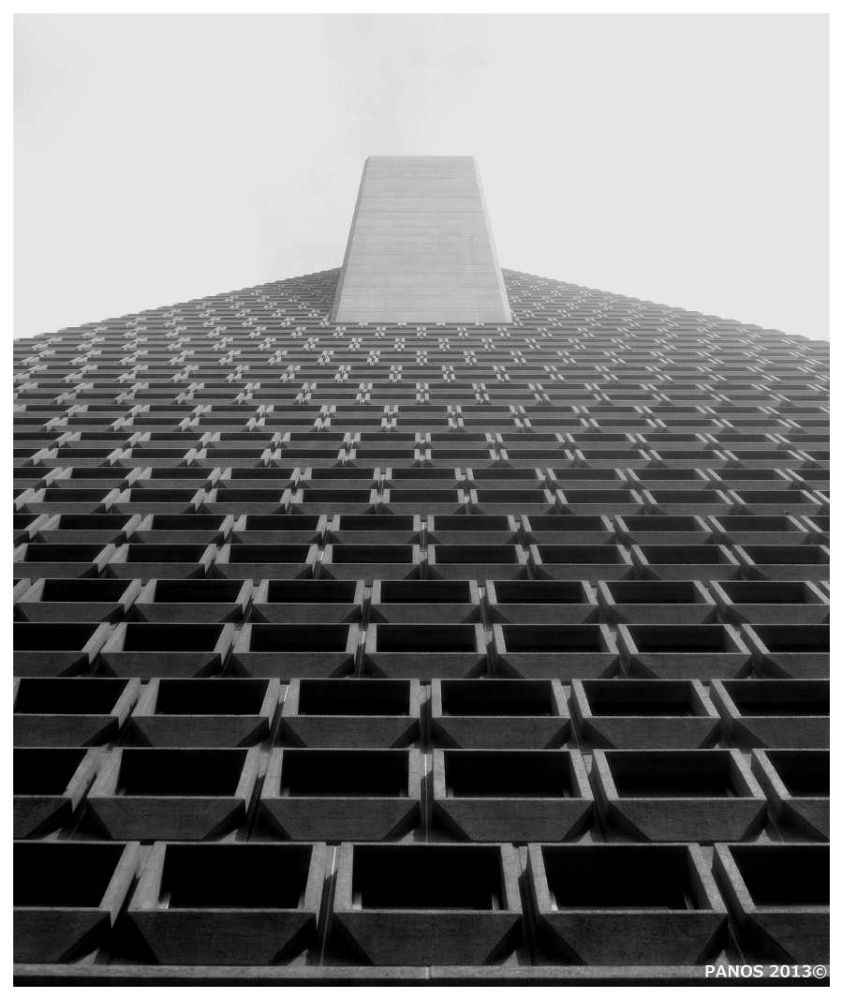Repetition-Trans America building  by Panos