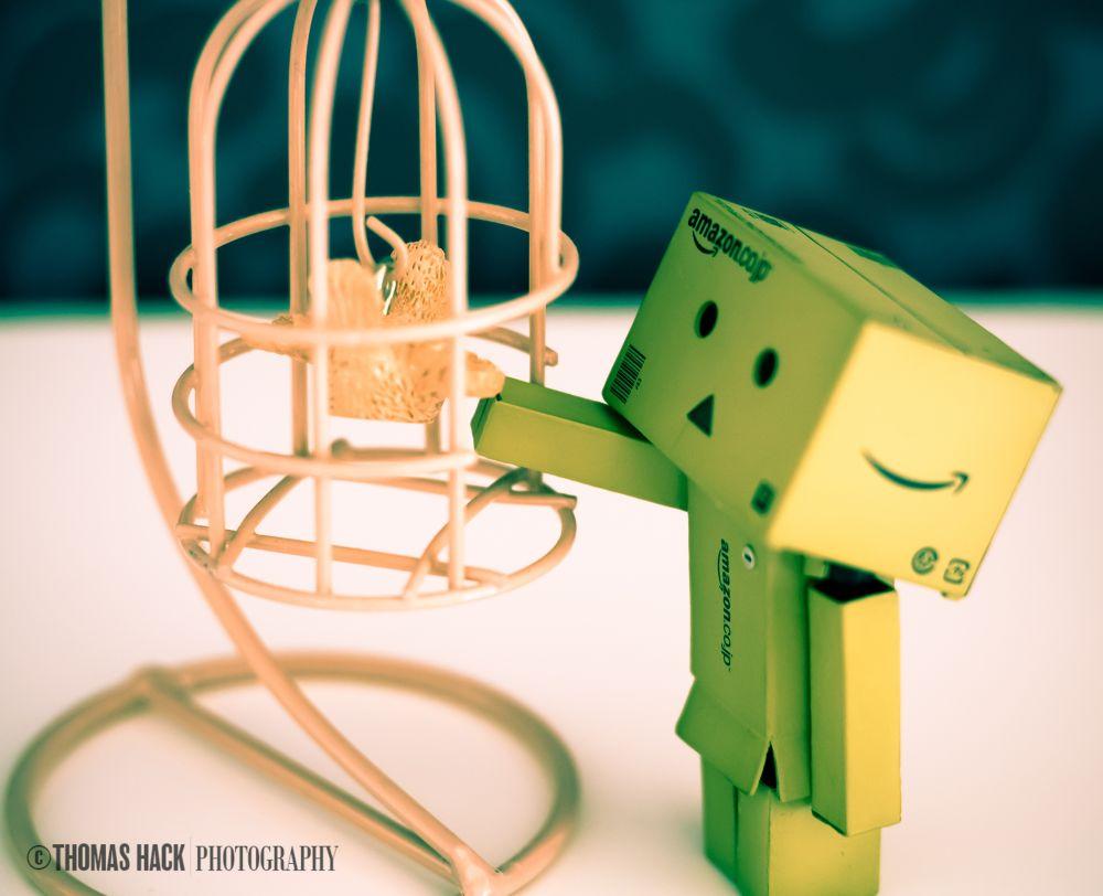 Danbo Free Birdie by ThomasHack