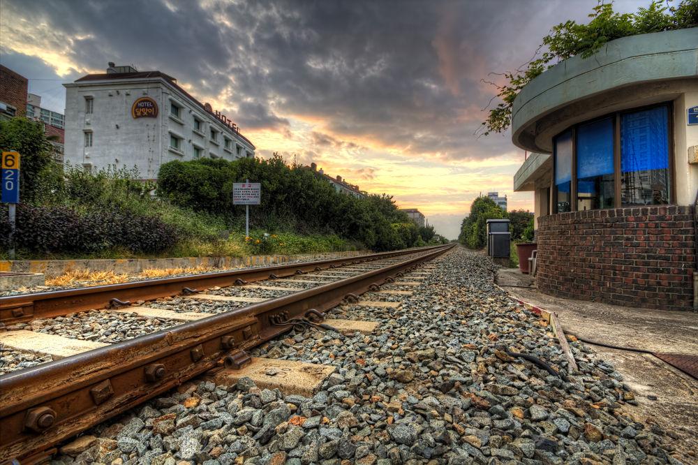 Photo in HDRI #train