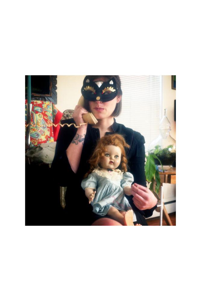 Hannah and doll by Jodi Donkel