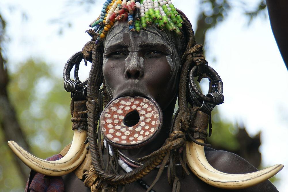 Tribe Mursi by brankofrelih