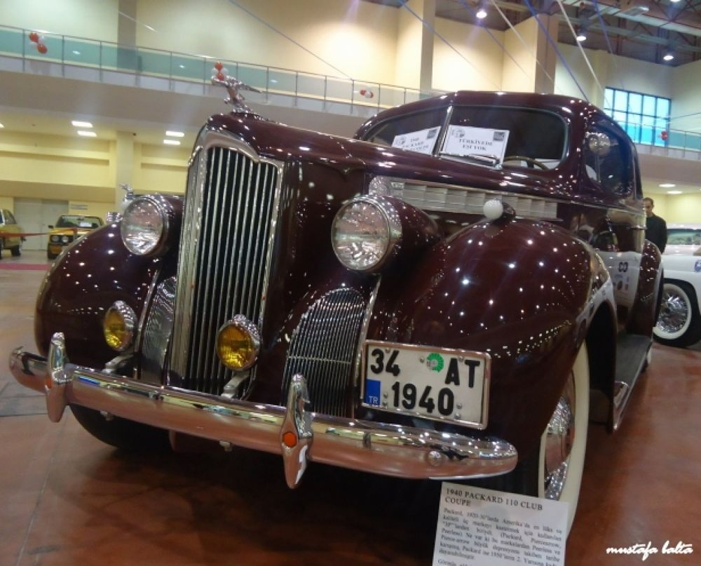1940 Packard 110 Coupe  by Mustafa Balta