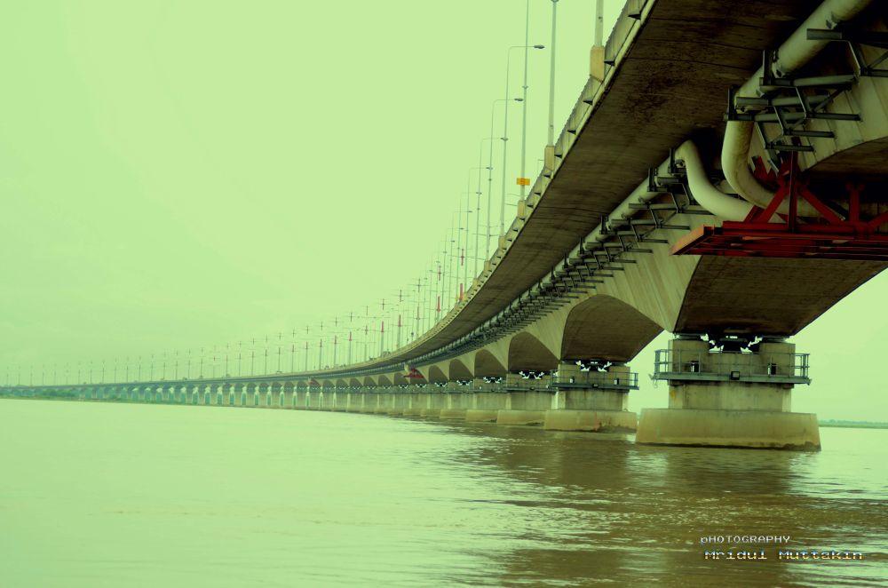 The Bonggo Bandhu Jamuna Bridge by MridulMuttakin