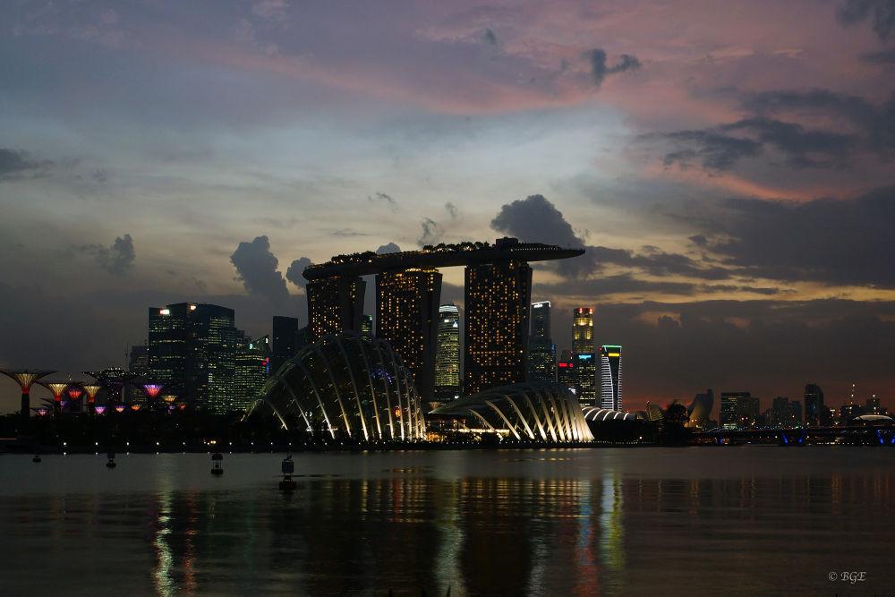 Marina Bay Sands Singapore by Brian