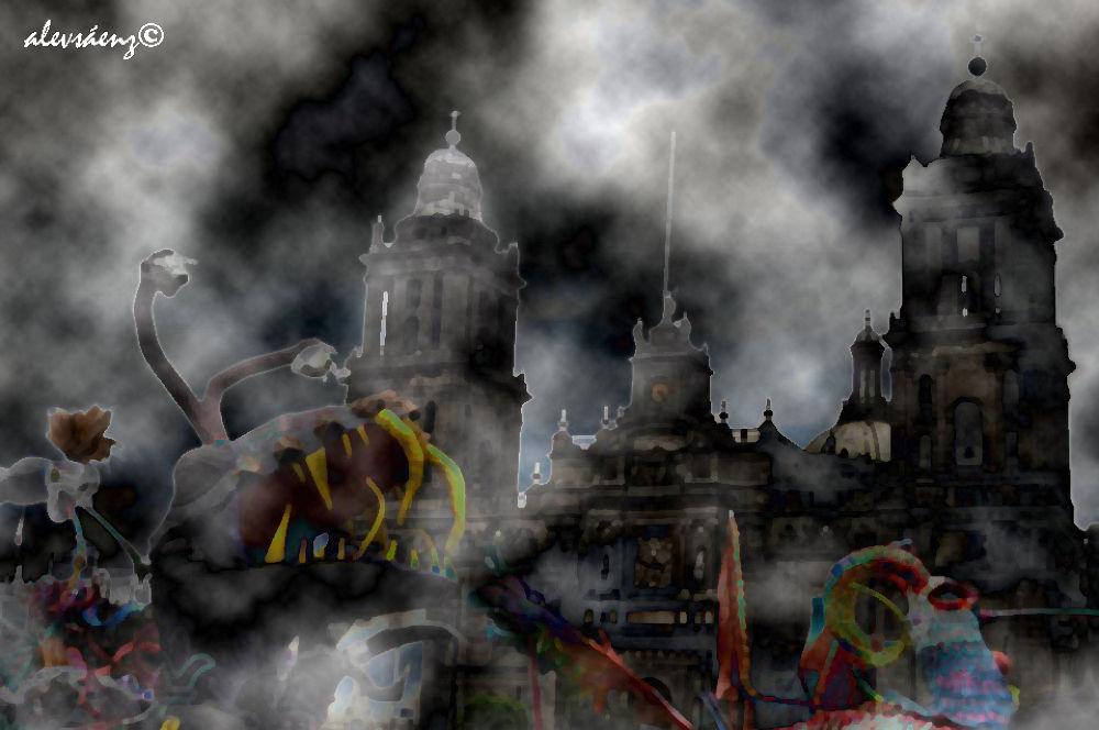 Día de Los Muertos Mexico city 2012 by alevsaenz