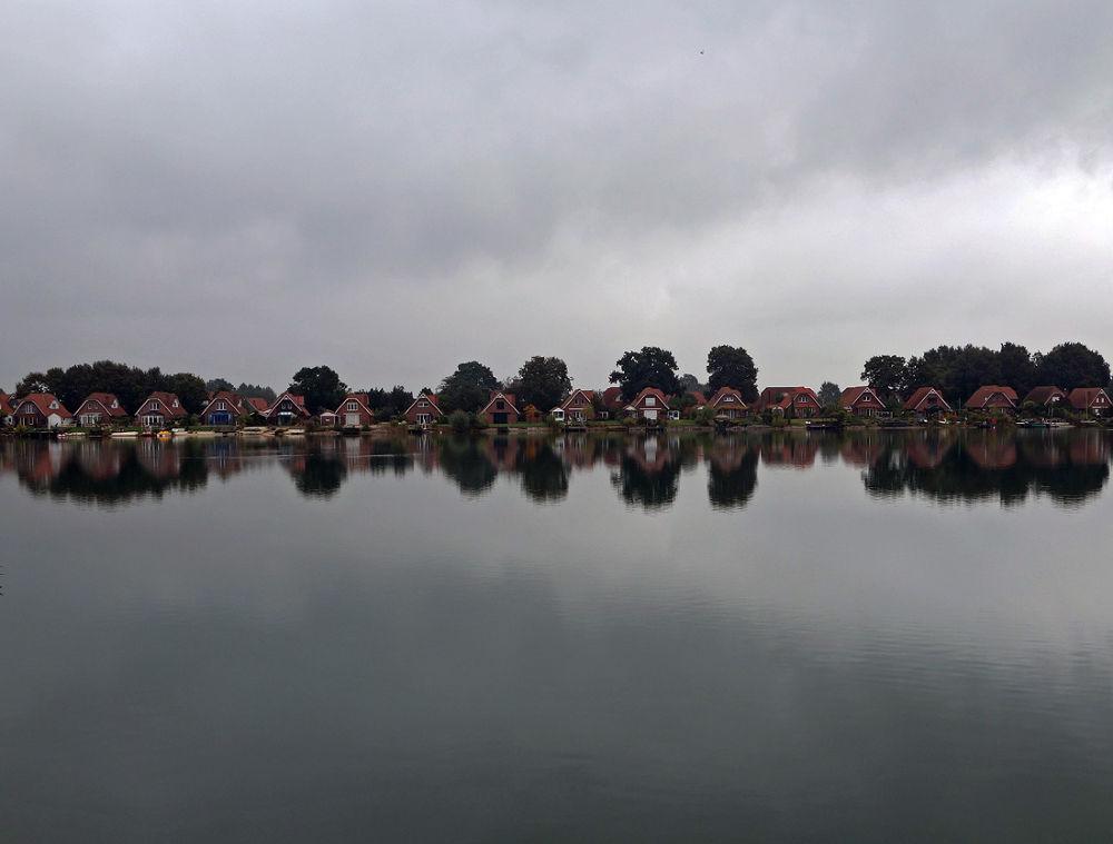 Photo in Random #reflection #nature #landscape #seascape #villa #lake #burlo #germany