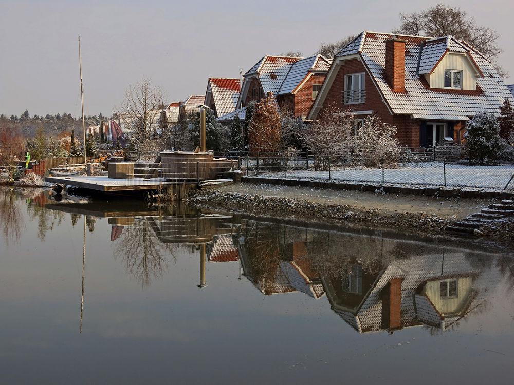 Winter in Burlo (Klostersee) by hugodejong35