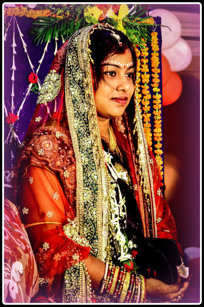 Indian bride... & her confidence.. :) by Narendra Kumar