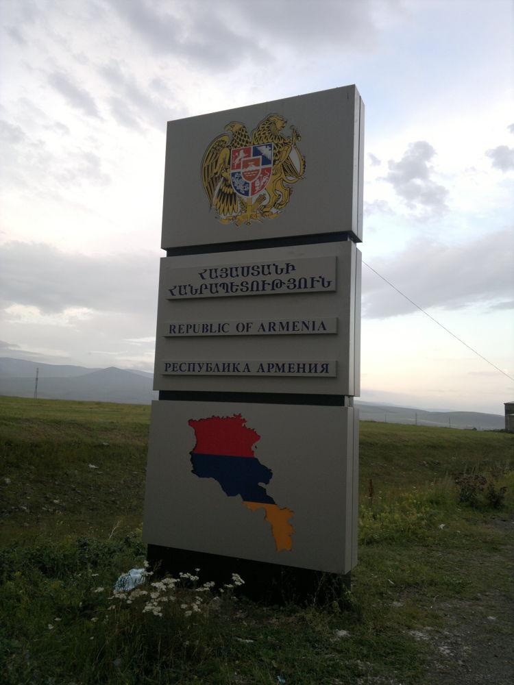 Armenia - Georgia border by donthinker