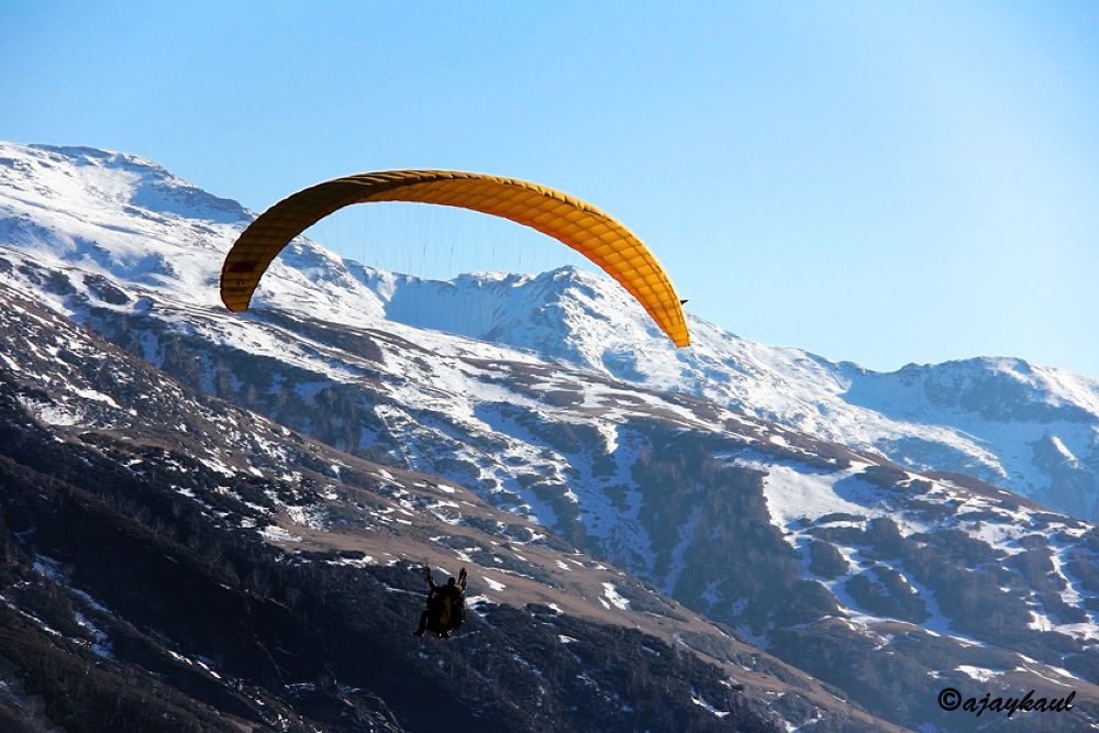 paragliding by ajaykaul
