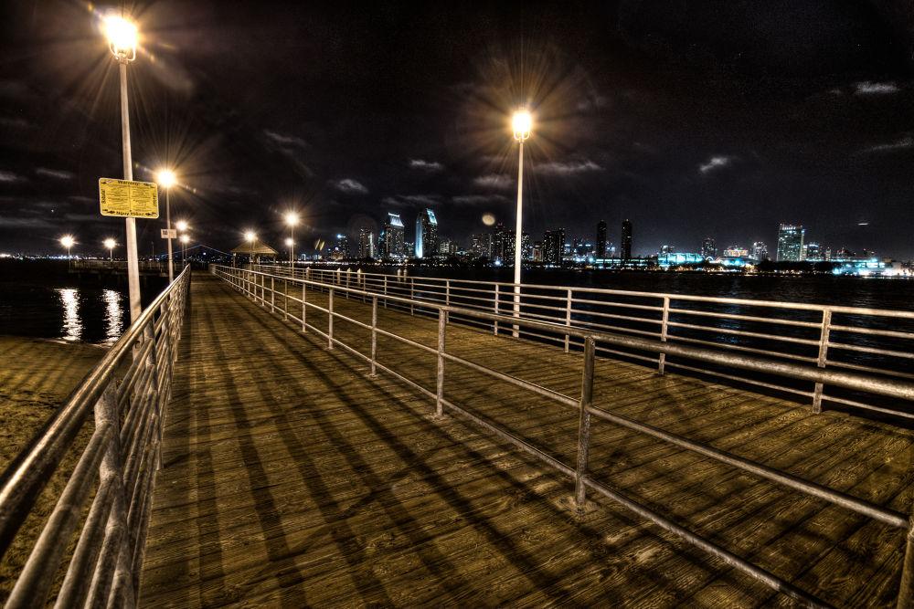 Pier by TicknorPhoto