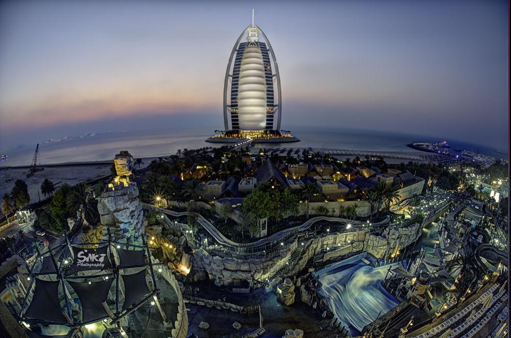 Burj Al Arab by sakinaveed