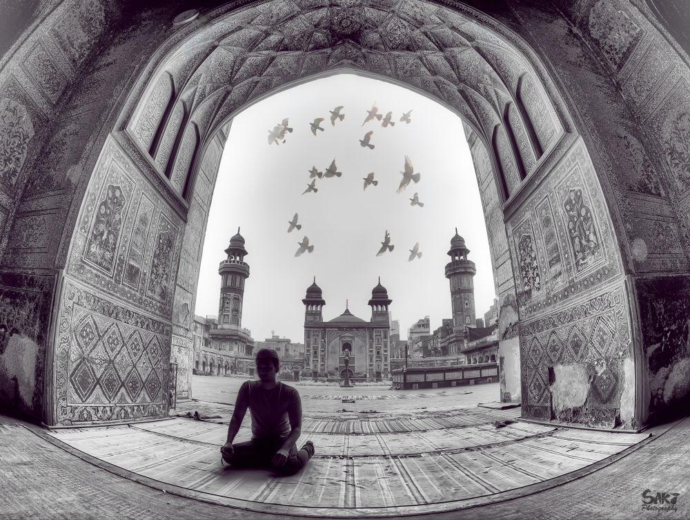 Faith: Praying at Wazir khan Mosque in PAK by sakinaveed