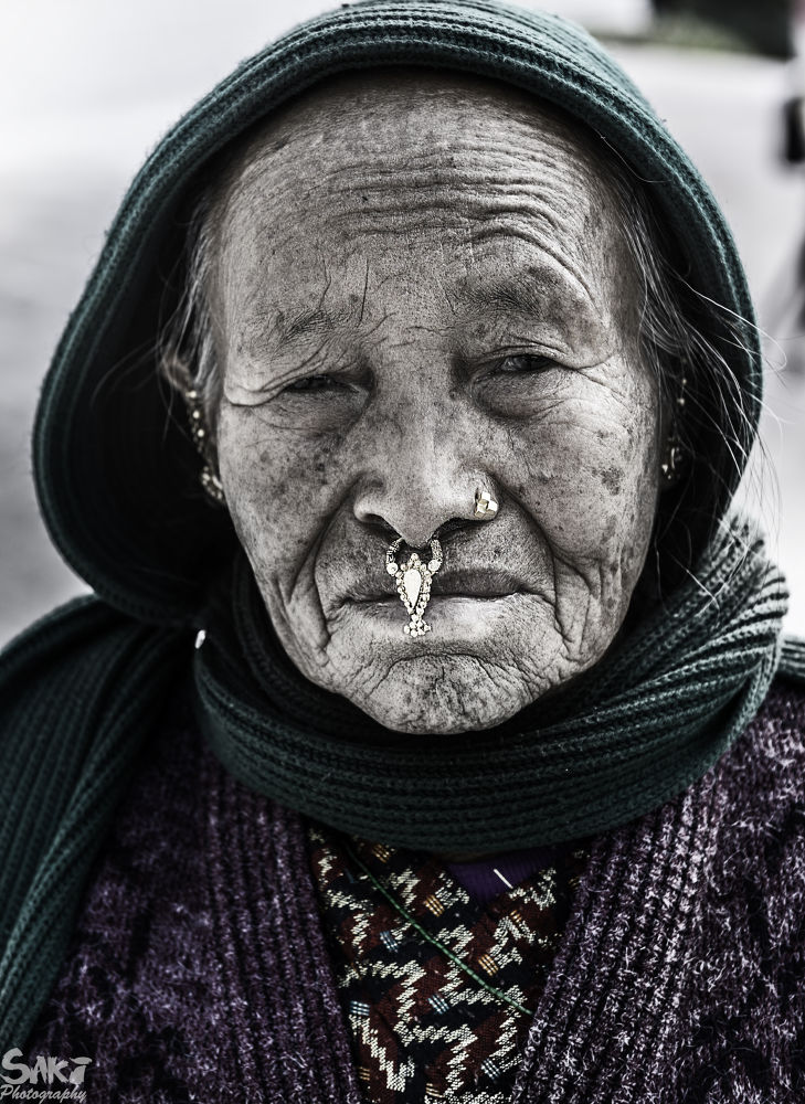A beautiful lady is an accident of nature. A beautiful old lady is a work of art. by sakinaveed