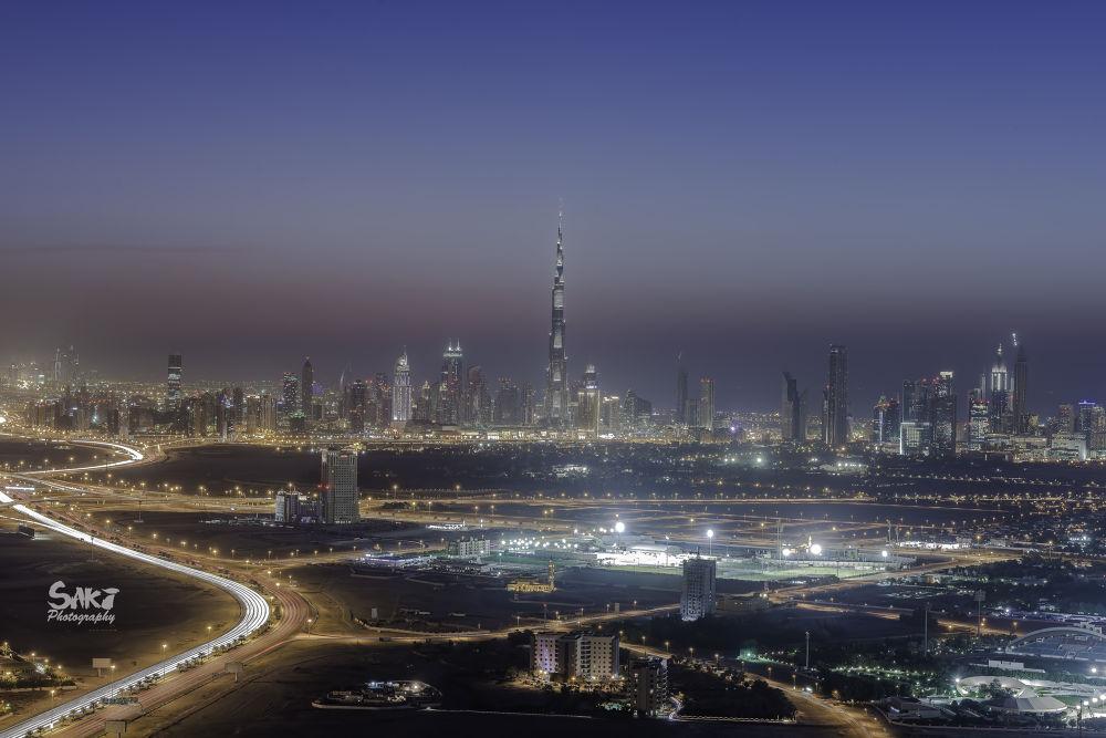 Windy Dubai by sakinaveed