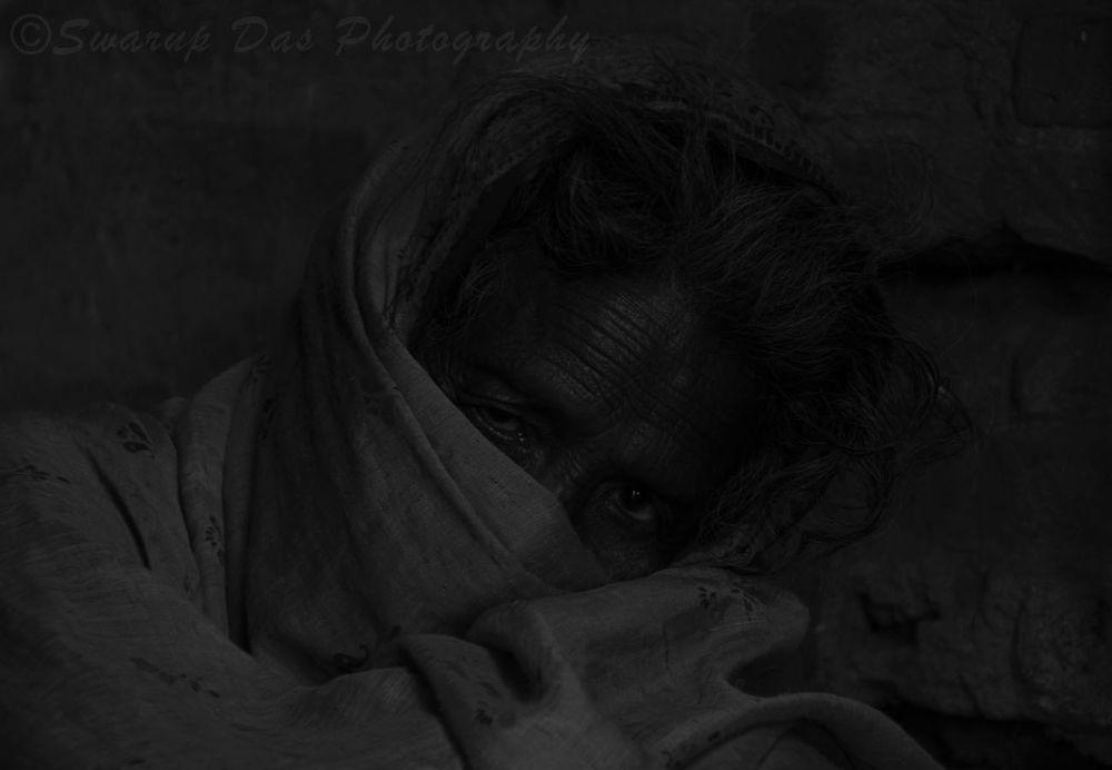 The Eye in monochrome.jpg by swarupdas