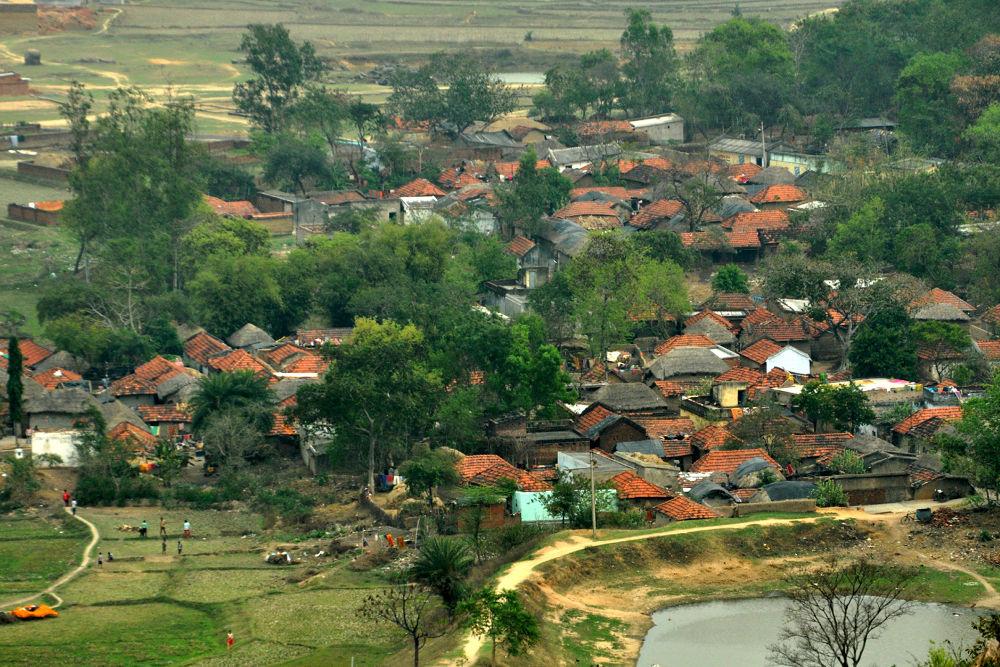 From top view from Jaychandi Pahar, Purulia March, 2014 by swarupdas