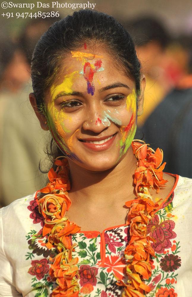 Portrait by swarupdas