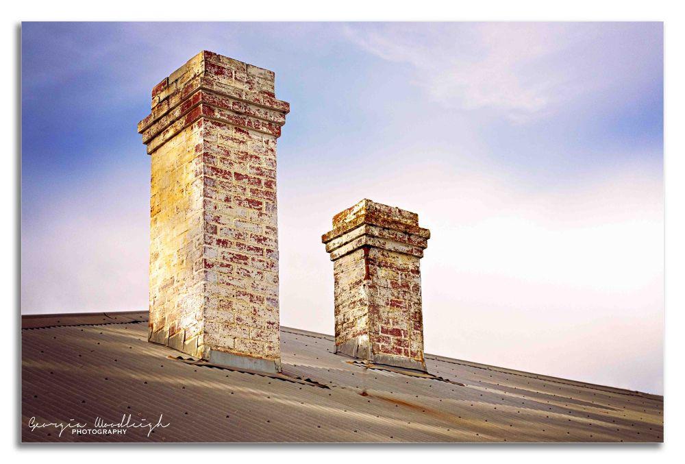 Chimneys by Georgia Woodleigh