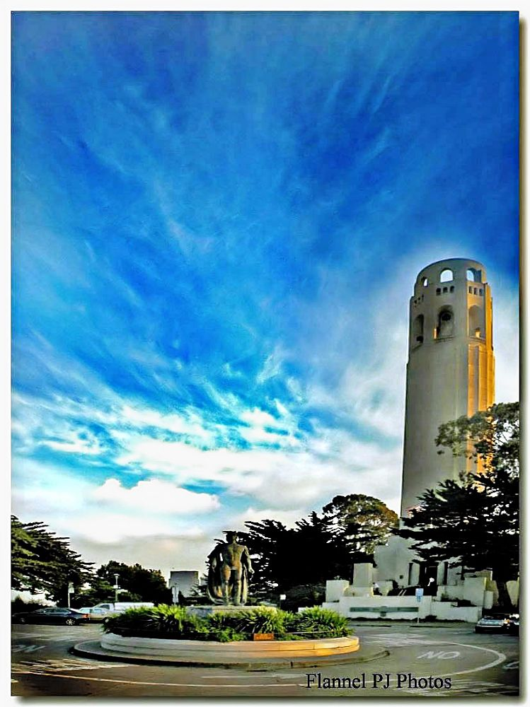 Coit Tower by FlannelPhotos