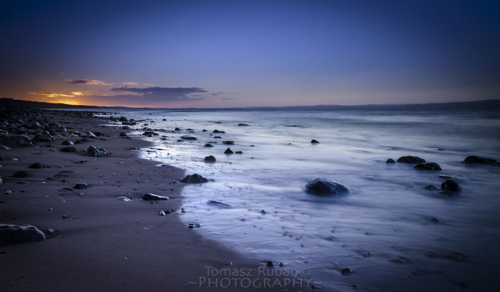 The Lonely beach by Tomasz Ruban Photography