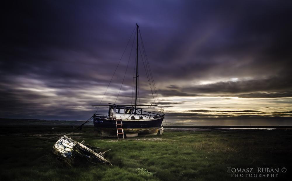 Boats graveyard  by Tomasz Ruban Photography