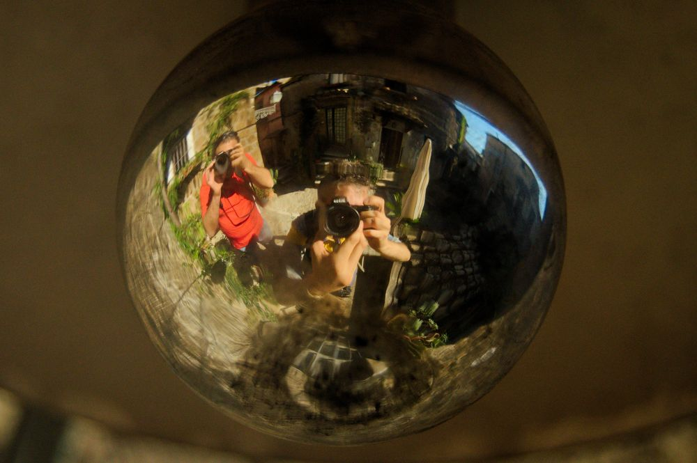 world on one ball by lozio