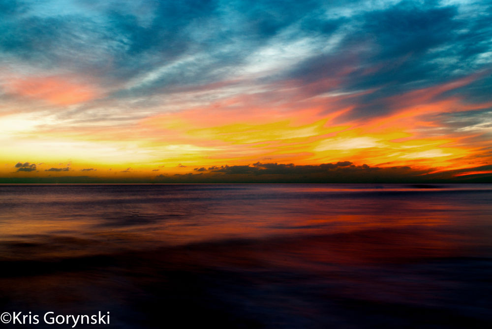 Sunset by Kris Gorynski