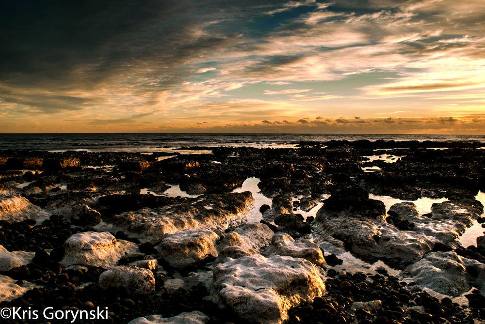 Beach  by Kris Gorynski