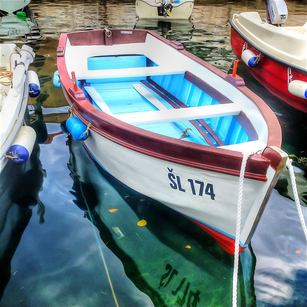 Wooden boat by oliversvob