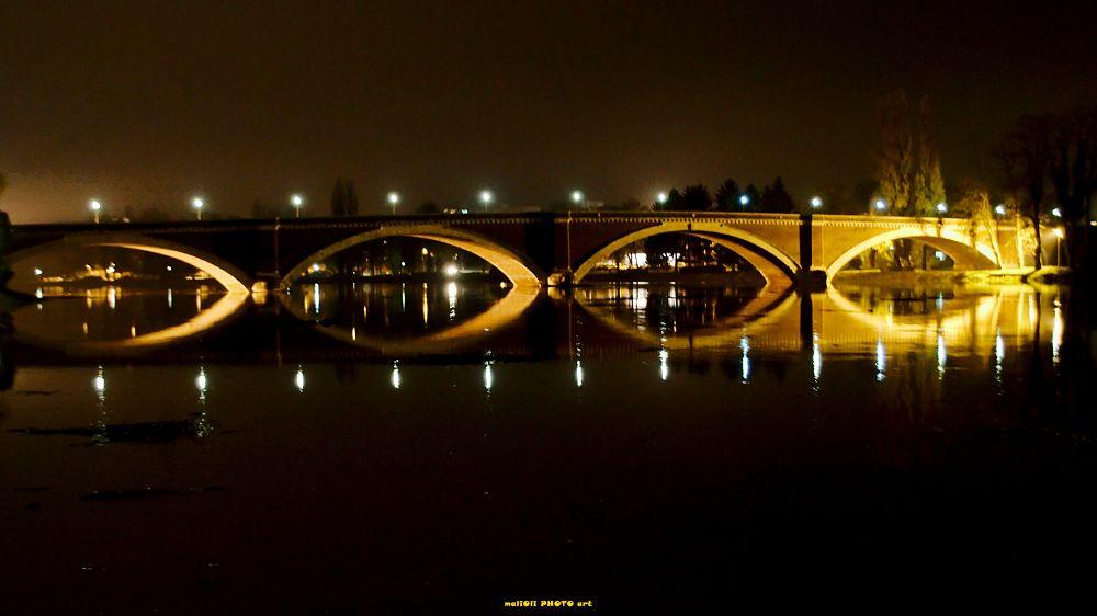 Old bridge in Sisak by oliversvob