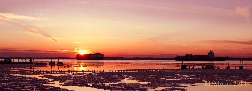 Sunset by mvmoorephotography