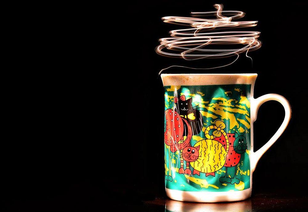 The Coffee Cup by Sanjiban Ghosh