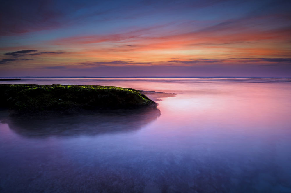 Blue Point Sunset by Rivan Indra