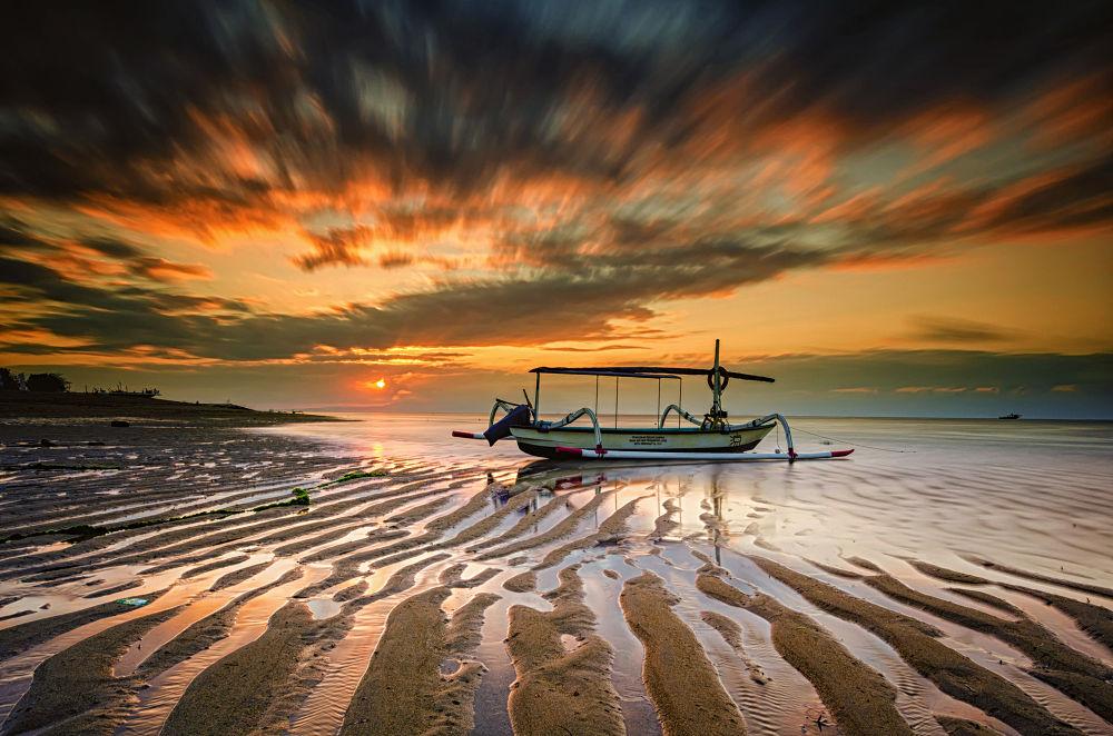 Photo in Landscape #ypa2013 #sunrise #sun #landscape #bigstopper #longexposure #boat #beach #sea #seascape #nature #sky #clouds