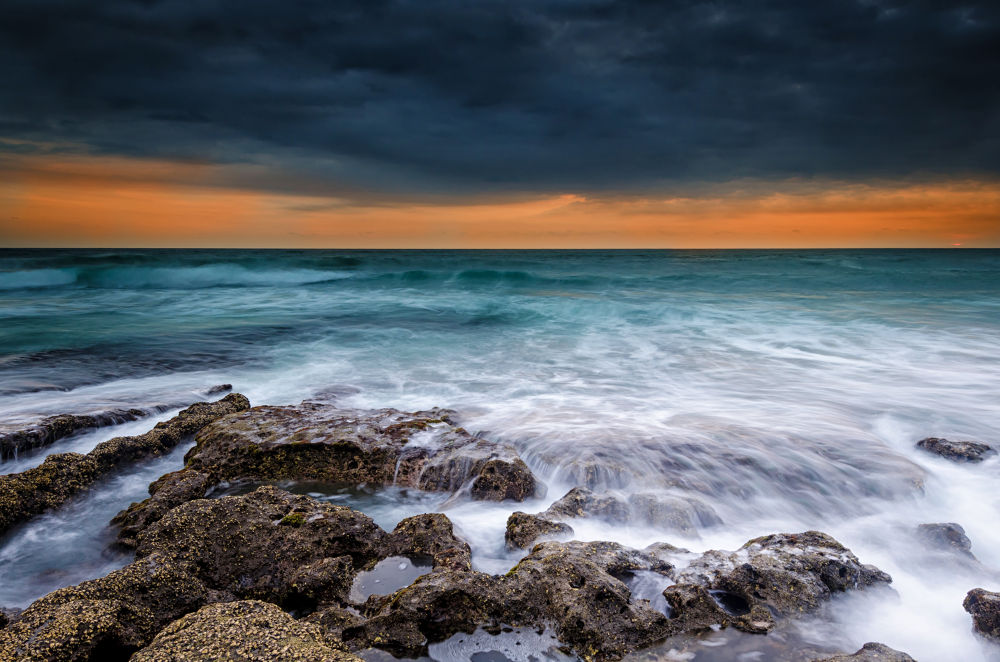 Photo in Landscape #ypa2013 #sunset #sun #landscape #nature #longexposure #graduatedneutraldensity #rocks #water #beach #sea #seascape #storm #bali #indonesia