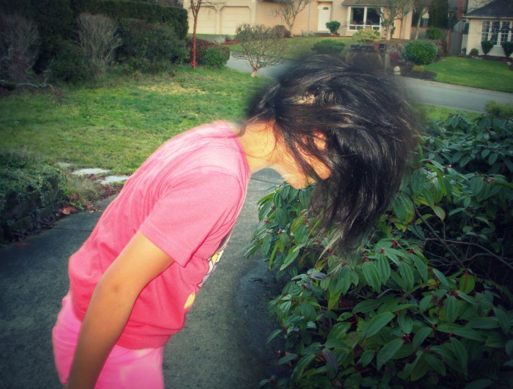 Photo in People #girl #sister #hair #blurred #vibrant