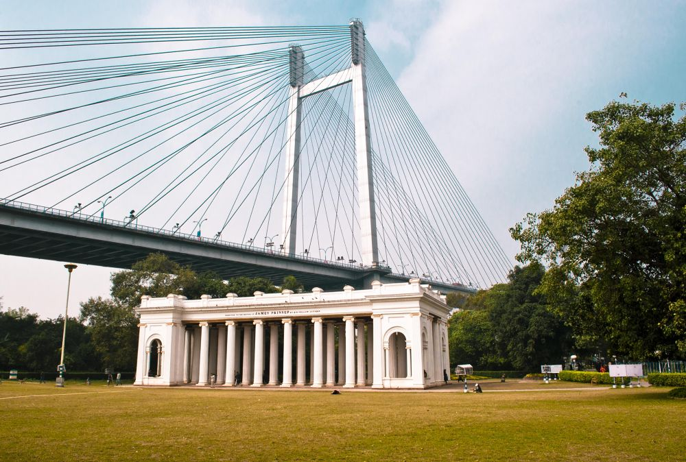 James Prinsep Memorial by the river Ganges, Calcutta by prabirbsen