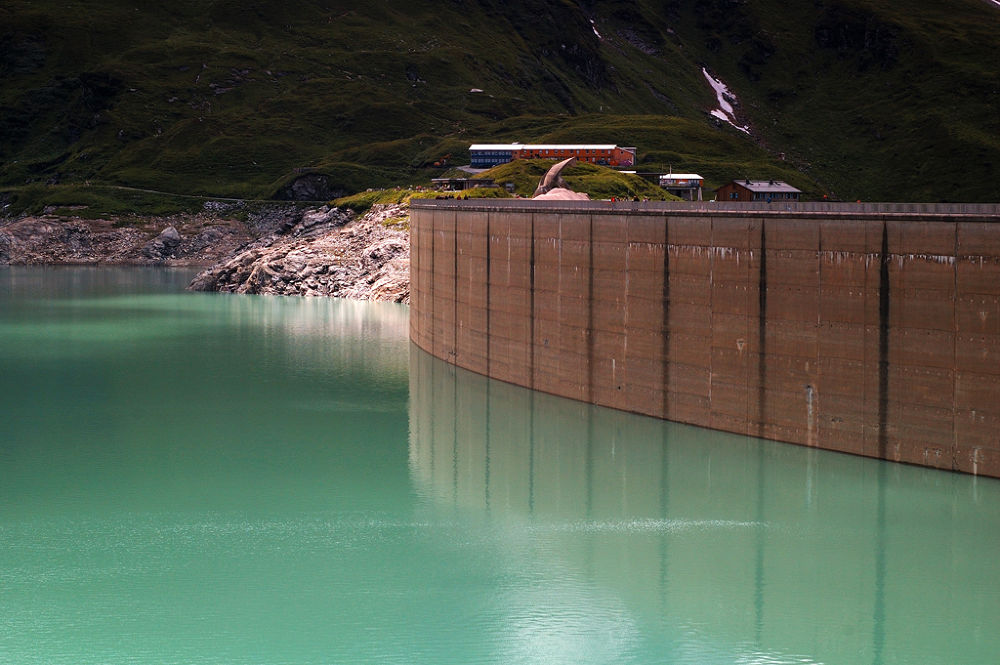 Photo in Industrial #dam #kaprun #austria