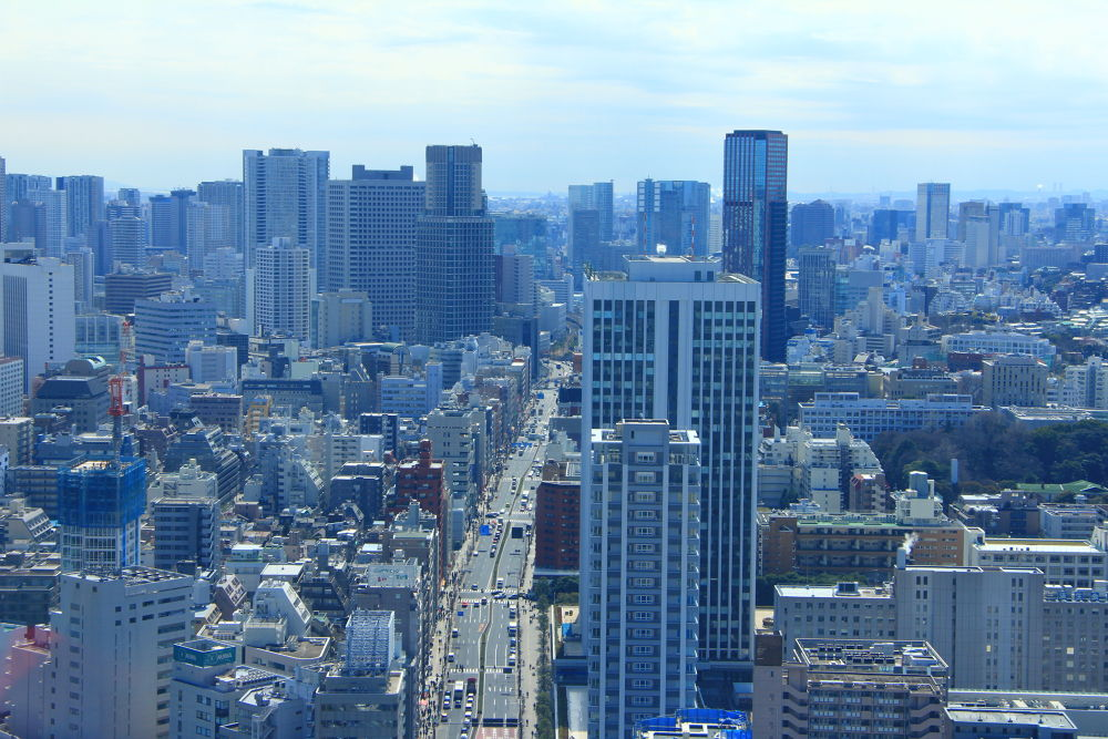 Tokyos tower from tokyotower =) by maziar