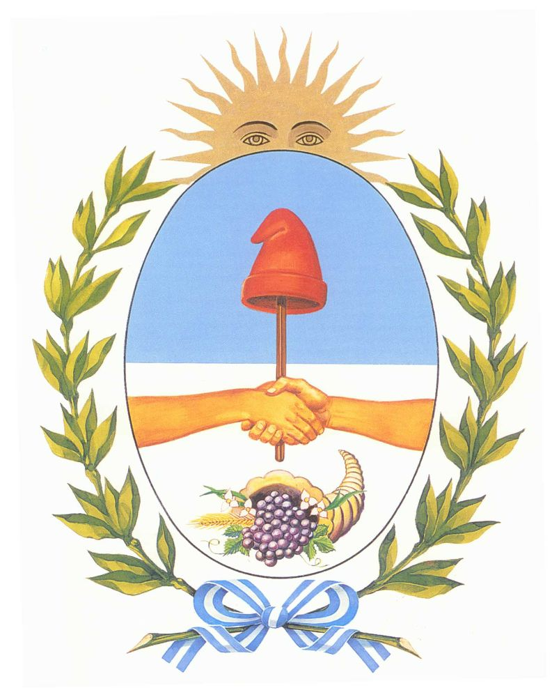 Photo in Random #argentina #mendoza #escudo #provincia
