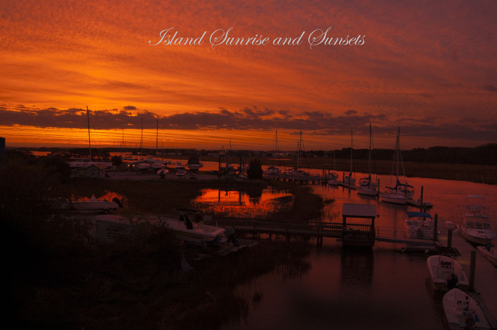 Island Sunrise and Sunsets 61 by pjorrie1