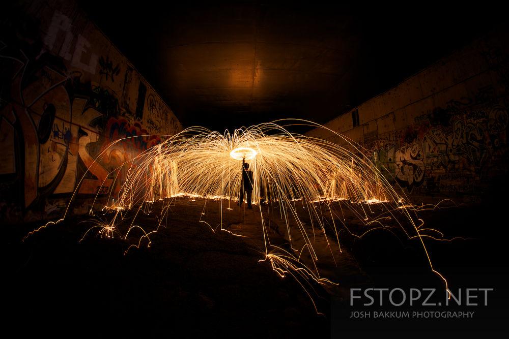 Fire under Hobart by joshBakkum