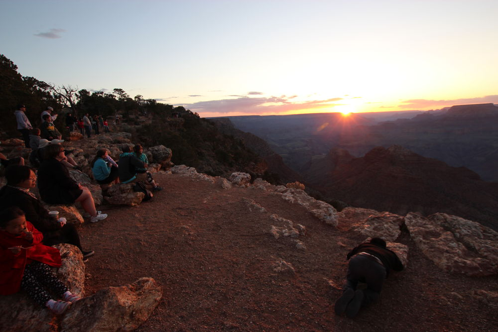 SUnset at Grand Canyon by Beom Photo