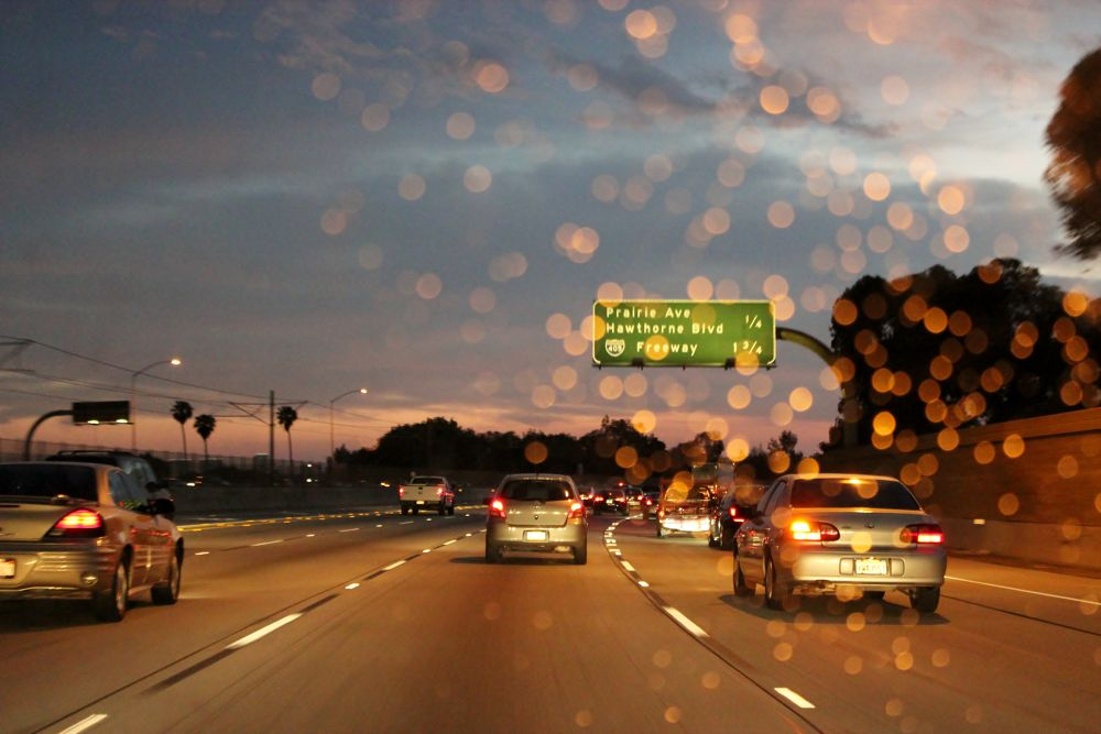 Highway in Los ANgeles by Beom Photo
