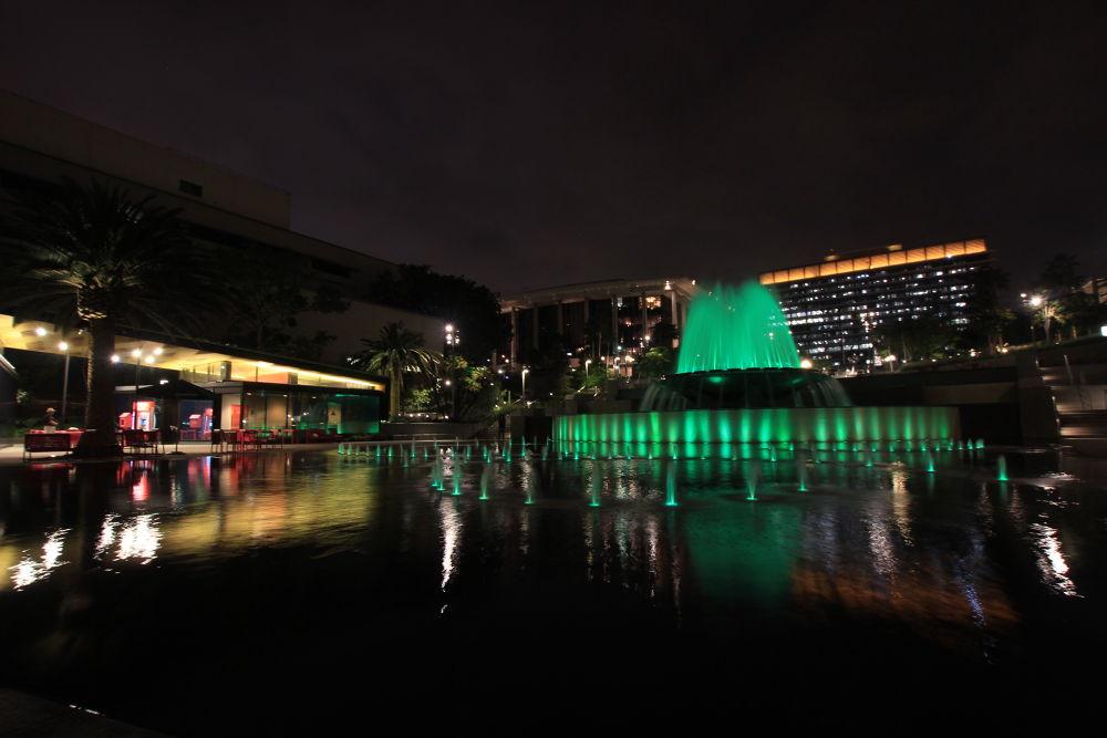 Photo in Landscape #la #grand park #fountain