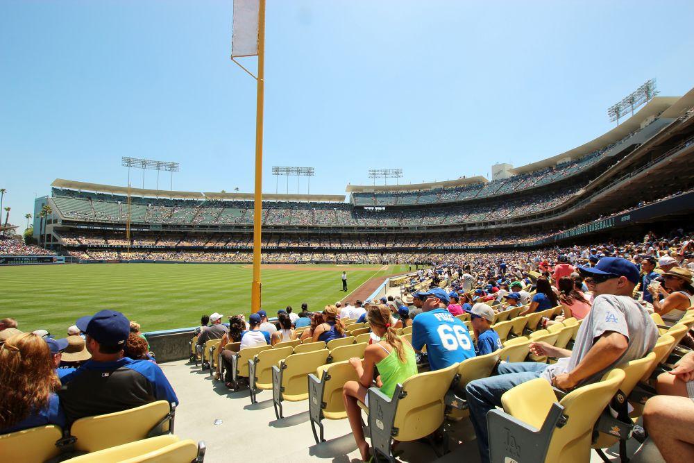 Dodger Stadium  by Beom Photo
