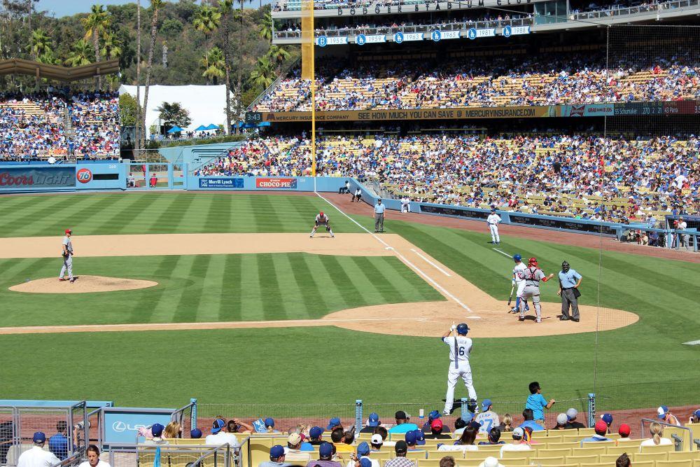 Dodger Stadium !  by Beom Photo