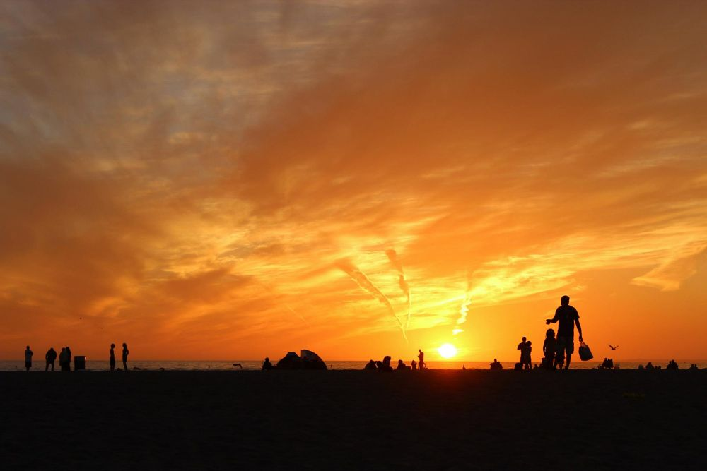 Photo in Random #ypa2013 #santa monica #sunset