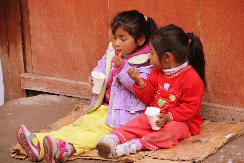 children in cusco by Beom Photo